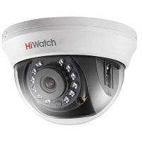Видеокамера HiWatch DS-T201(3.6), HD-TVI, 2 Мп, для помещений.