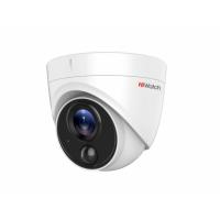 Видеокамера HiWatch DS-T213,HD-TVI, 2 Мп, уличная, купольная.
