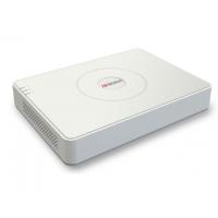 Видеорегистратор HiWatch DS-H216QА гибридный (HD-TVI, AHD, аналог, +1IP), 16 каналов, c технологией AoC (аудио по коаксиальному кабелю).