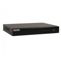 Видеорегистратор HiWatch DS-H304Q, гибридный для аналоговых, HD-TVI, AHD и CVI камер + 1 IP-канал (до 6 с замещением аналоговых).